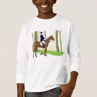 Riding into the Woods Equestrian T-Shirt