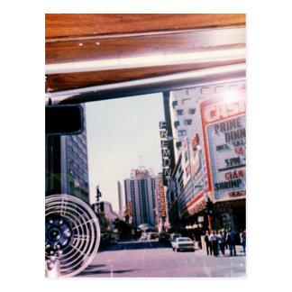 Riding into Vegas Postcard