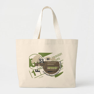 Riding Invasion Tshirts and Gifts Canvas Bag