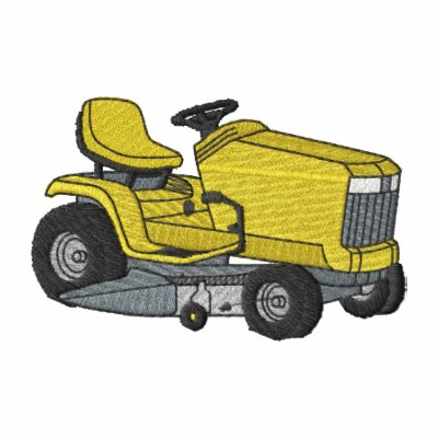 Riding Lawn Mower Polo Shirt