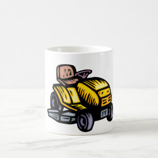 Riding Lawn Mower Mug