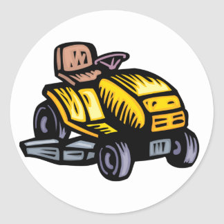 Riding Lawn Mower Stickers