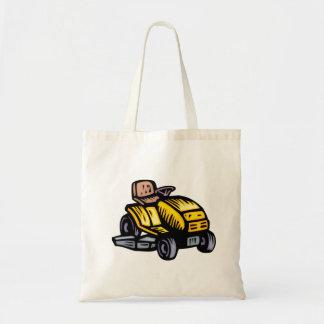 Riding Lawn Mower Tote Bag
