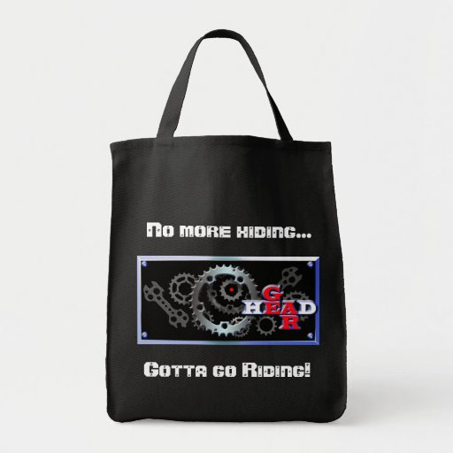 Riding or hiding tote bag