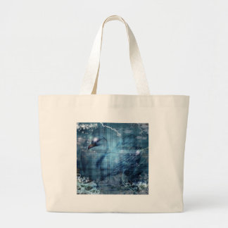 RIDING OUT THE STORM.jpg Large Tote Bag