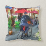 Riding Past the Cafe Pillows
