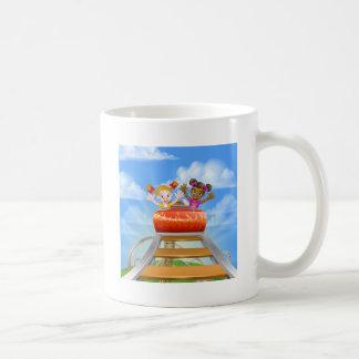 Riding Roller Coaster Coffee Mug