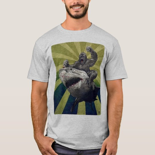 Riding Shark T-Shirt