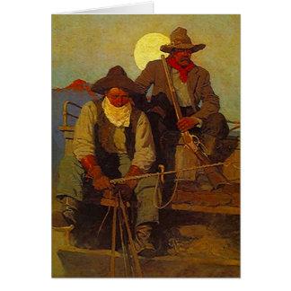 Riding Shotgun Riders Side-seat Western-esque Card