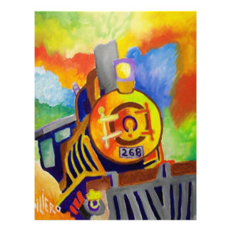Riding That Train by Piliero Letterhead