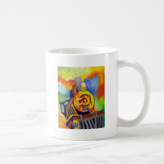 Riding That Train by Piliero Classic White Coffee Mug