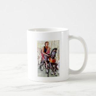 Riding the Carousel with Mom Coffee Mug