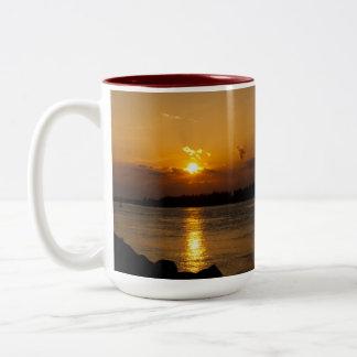 Riding the Clouds Sunset Mug