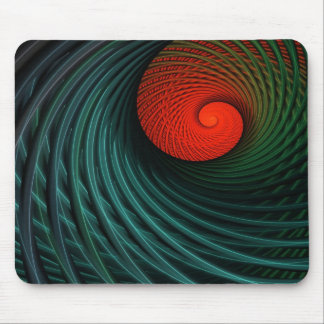 Riding the Fractal Wave Mouse Pad