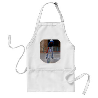 Riding The Rail Extreme Sport Adult Apron