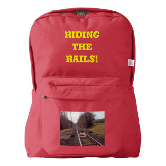 Riding the Rails American Apparel™ Backpack