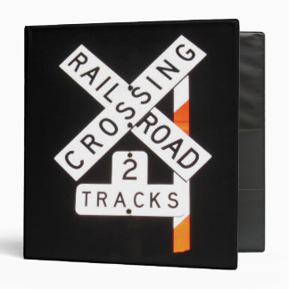 Riding the Rails Binder