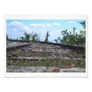 Riding the Rails Photo Print