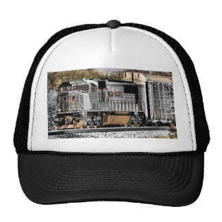 Riding the rails. trucker hat