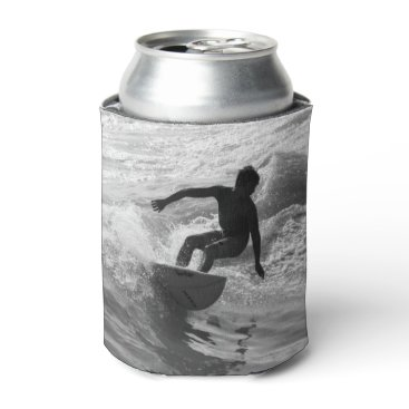 Riding The Wave Grayscale Can Cooler