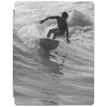 Riding The Wave Grayscale iPad Smart Cover