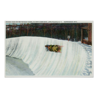 Riding the Whiteface Curve Poster