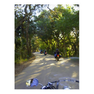 Riding to Snook Haven Postcard