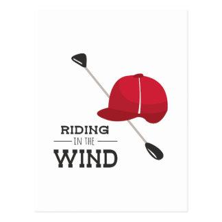 Riding Wind Postcards