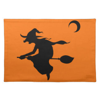 Riding witch place mat