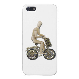 RidingBicycleWithBasket081311 iPhone 5 Case