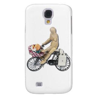 RidingBikeBasketFood082611 Galaxy S4 Cover