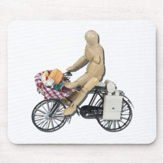 RidingBikeBasketFood082611 Mouse Pad