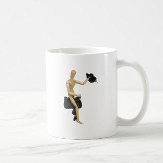 RidingCowboyHat080509 Coffee Mugs