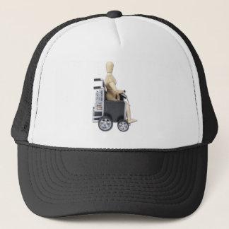 RidingElectricWheelchair Trucker Hat