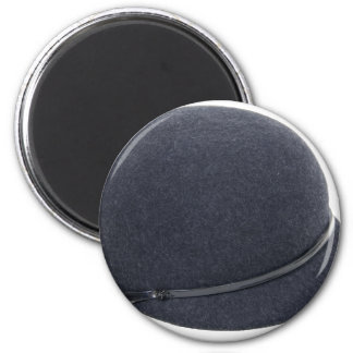 RidingHat072509 2 Inch Round Magnet