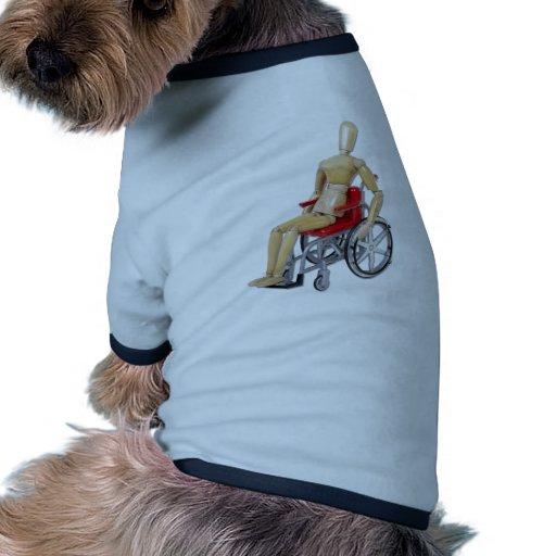 RidingRedWheelchair T-Shirt