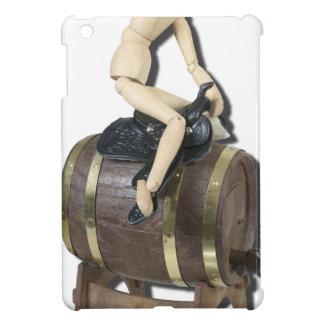 RidingSaddleOnBarrel091612 copy.png iPad Mini Case