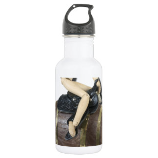 RidingSaddleOnBarrel091612 copy.png Stainless Steel Water Bottle