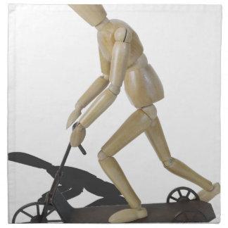 RidingScooter081914 copy Cloth Napkin