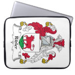 Ridler Family Crest Laptop Computer Sleeve
