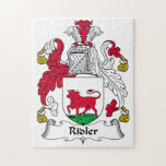 Ridler Family Crest Puzzles
