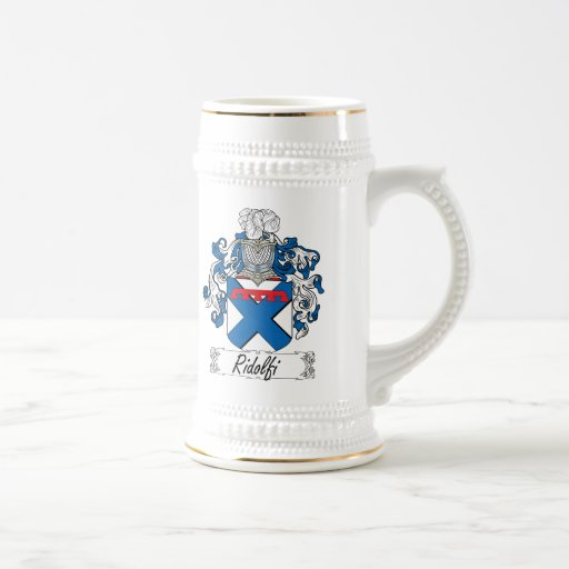 Ridolfi Family Crest Coffee Mugs