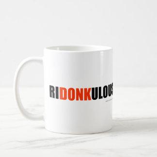 ¡Ridonkulous! Tazas De Café