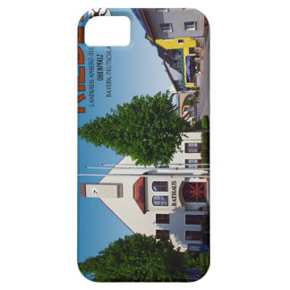 Rieden - Hauptstrasse y Rathaus Funda Para iPhone 5 Barely There
