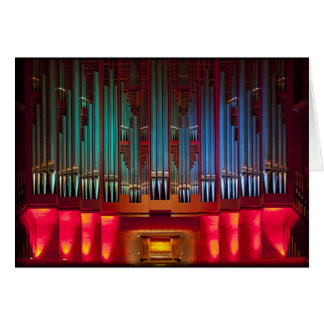 Rieger pipe organ, Christchurch, New Zealand Card