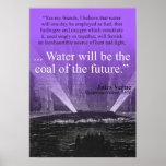 Riegue… el carbón del futuro - el poster (púrpura)