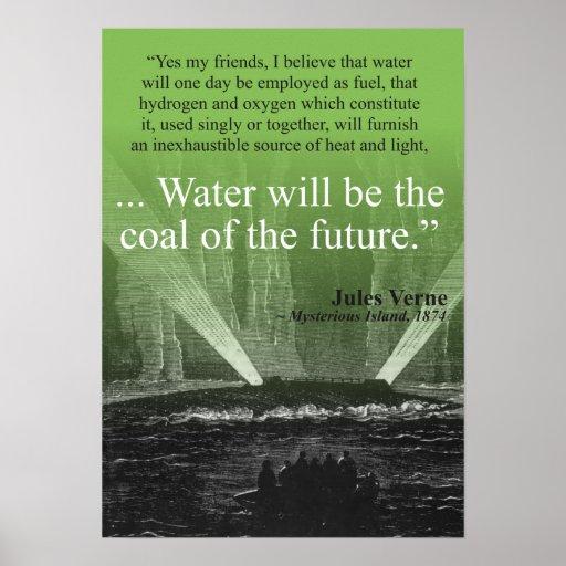 Riegue… el carbón del futuro - poster (el verde)