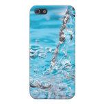 Riegue fluir en una piscina iPhone 5 funda