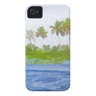 Riegue la ondulación en una laguna del remanso en iPhone 4 Case-Mate protector