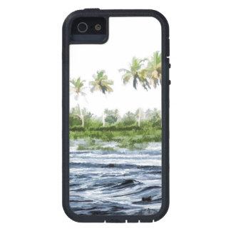 Riegue la ondulación en una laguna del remanso en iPhone 5 funda